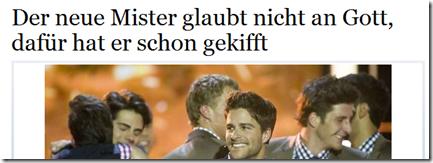 mister schweiz