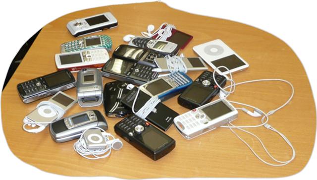 Elektronische Geräte in einer Schulklasse – Jakobs Blog